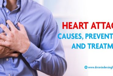 Heart Attack: Causes, Prevention and Treatment- Dr Ravinder Singh