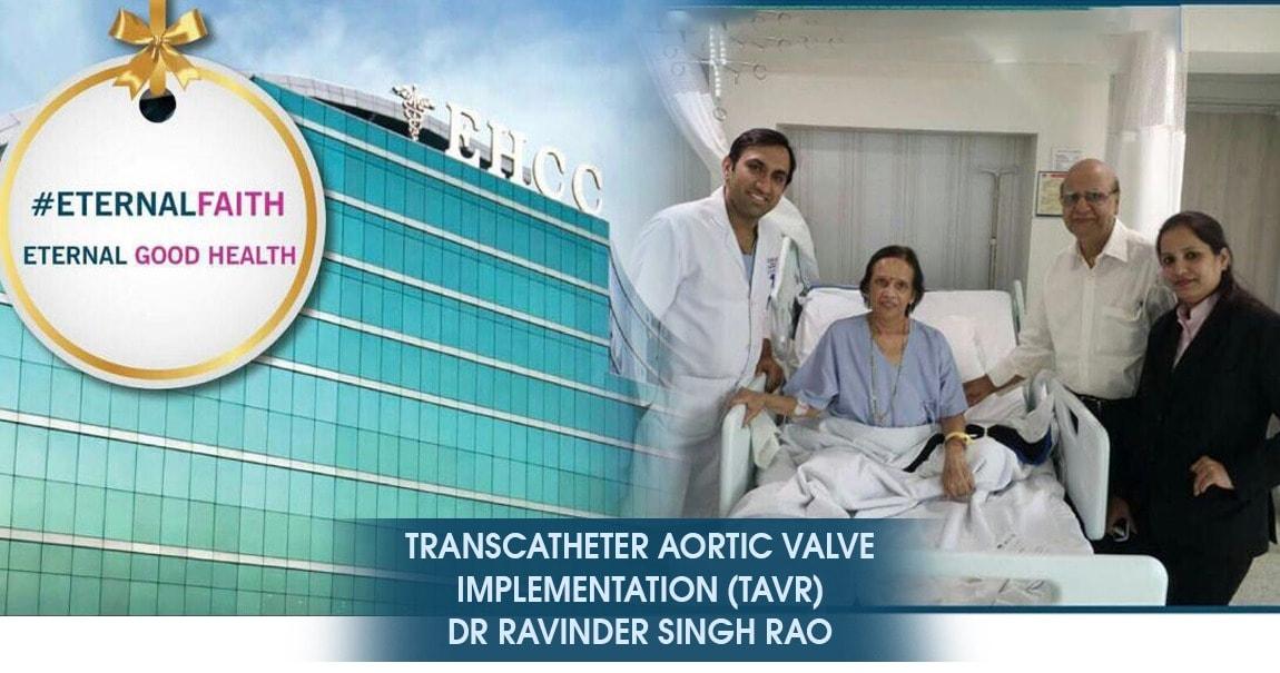TAVR Expert in India, TAVI Expert in India